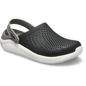 Crocs LiteRide Clogs, black/smoke